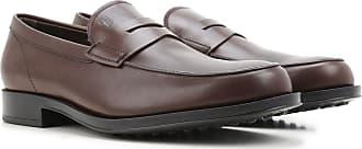 Tod's Shoes Suede, Mocasines para Hombre, Marrn (Testa Moro S800), 44.5 EU