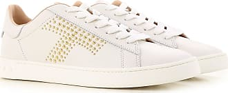 Sneakers for Women On Sale in Outlet, Silver, Leather, 2017, 6 Tod's