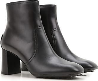 Boots for Women, Booties On Sale, Black, Leather, 2017, 3.5 5.5 8 8.5 Tod's