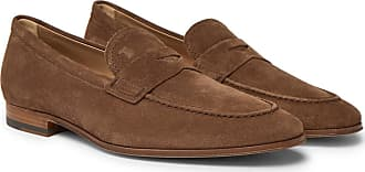 Loafers for Men On Sale, Brown, suede, 2017, 6 Tod's
