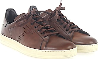 Tom Ford Sneaker smooth leather Hole pattern Logo ltacoeIr