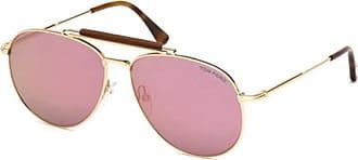 Tom Ford Herren Sonnenbrille »Sean FT0536«, goldfarben, 28C - gold
