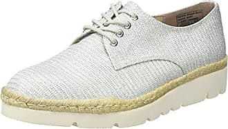 TOM Tailor 2797003, Zapatos de Cordones Derby para Mujer, Plateado (Silver 00017), 41 EU