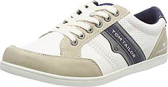 TOM Tailor 4891705, Zapatillas para Mujer, Weiß (White), 41 EU