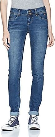 Straight Carrie, Jean Droit Femme, Bleu (Dark Stone Wash Denim 1053), W32/L34 (Taille Fabricant: 32)Tom Tailor
