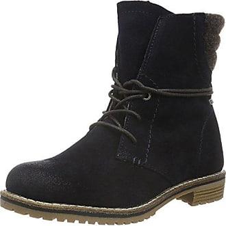TOM Tailor 1693604, Zapatillas de Estar por Casa para Mujer, Azul (Navy), 36 EU