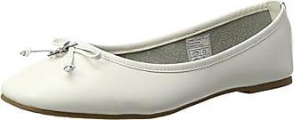 2790503, Ballerines Bout Fermé Femme, Blanc (White 00002), 40 EUTom Tailor
