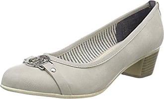 TOM Tailor 2790001, Zapatos de Tacón Mujer, Gris, 41 EU