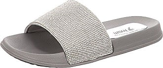 Damen 4896001 Pantoletten, Silber (Silver), 40 EU Tom Tailor