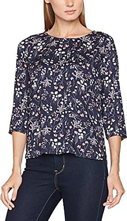 Sporty Printed Tunic, Blouse Femme, Bleu (Real Navy Blue 6593), 38 (Taille Fabricant: Medium)Tom Tailor Denim