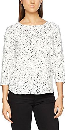 Tom Tailor Denim TC with Turn-Up, Blusa para Mujer, Blanco (Off White), 42 (Talla del Fabricante: X-Large)