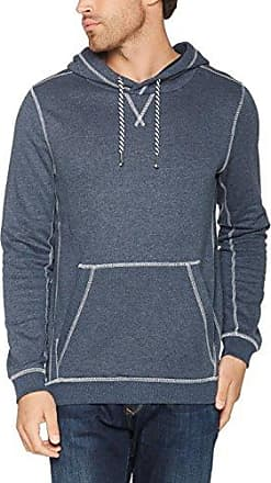 Sweatjacket with Contrast, Sweat-Shirt Homme, Bleu (Black Iris Blue 6740), SmallTom Tailor Denim