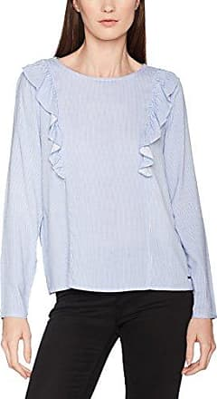 Sporty Printed Tunic, Blouse Femme, Blanc (Off White 8005), 42 (Taille Fabricant: X-Large)Tom Tailor Denim