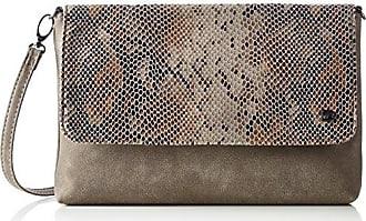 Virginia 200001 Damen Clutches 25x15x5 cm (B x H x T), Schwarz (Schwarz 60) Tom Tailor