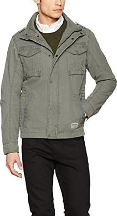 Jacket, Chaqueta para Hombre, Azul (Light Chambray 1500), Medium Tom Tailor Denim