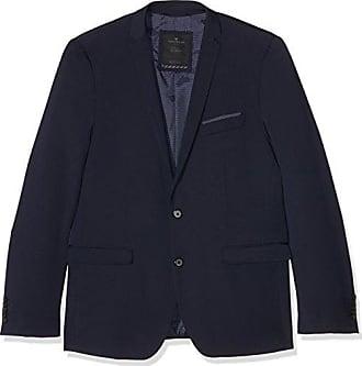 solid clean suit jacket, Veston Homme, Gris (Tarmac Grey), 48Tom Tailor