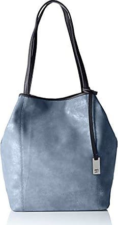 Damen Mila Ahoi Tote, Blau (Blau), 14x34x44 cm Tom Tailor