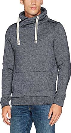 Two-Tone Sweat Jacket, Sudadera para Hombre, Azul (Ocean Night Blue 6789), Large Tom Tailor