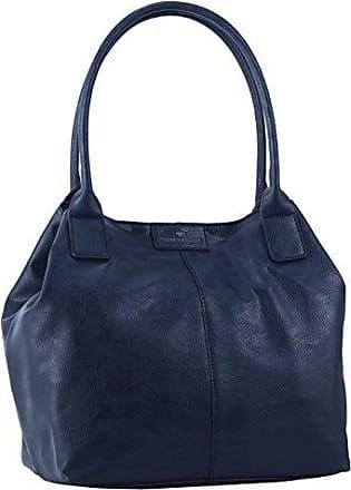 ACC Damen Tyra Shopper, Blau (Blau 50), 30x32x6 cm Tom Tailor