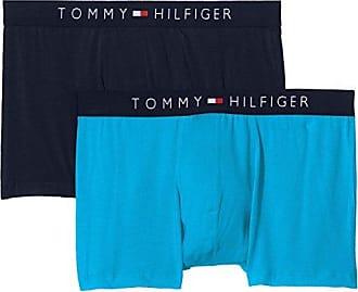 2p Trunk Logo, Pantalones Cortos para Hombre, Multicolor (Poppy Red/Navy Blazer 638), Large(Pack de 2) Tommy Hilfiger