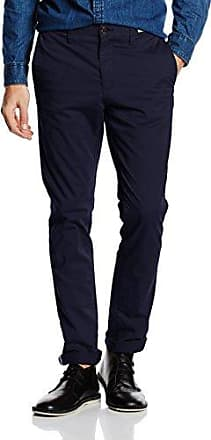 Bleecker Chino Org STR Twill, Pantalon Homme, Blanc (Bright White 100), (Taille Fabricant: 34/32)Tommy Hilfiger