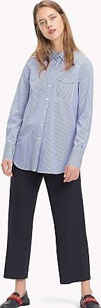 Chemise à rayures verticales et dos contrasté FR42Tommy Hilfiger Pas Cher Large Gamme De oxSA4np