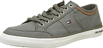 Tommy Hilfiger Heritage Suede Slip On Sneaker, Scarpe da Ginnastica Basse Uomo, Verde (Dusty Olive 011), 40 EU