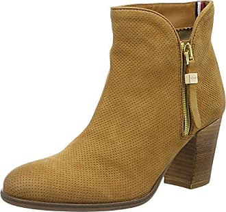 J1285ill 3c, Bottes Femme, Rouge (Decadent Chocolate), 38 EUTommy Hilfiger