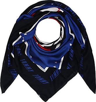 Tommy_Jeans Womens Tjw Logo Square Neckerchief, Multicolor, One Size (Manufacturer Size: OS) Tommy Jeans
