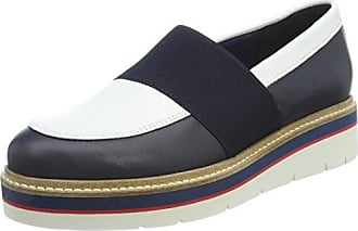 R1285oxana 1a, Mocassins (Loafers) Femme, Rouge (Decadent Chocolate), 40 EUTommy Hilfiger