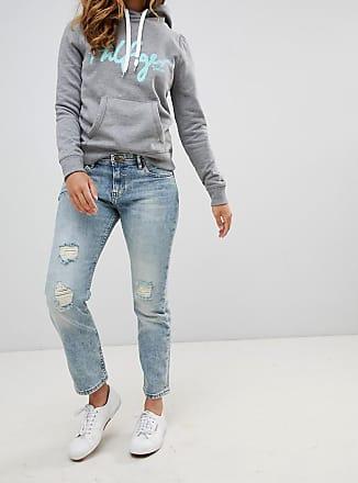 Pantalons Pour Les Femmes À La Vente, Une Collection Spéciale Gigi Hadid, Bleu Marine, Polyamide, 2017, 10 6 8 Tommy Hilfiger