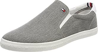 Tommy Hilfiger Essential Long Lace Sneaker, Scarpe da Ginnastica Basse Uomo, Grigio (Light Grey 004), 40 EU