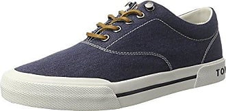 Tommy Hilfiger Iconic Long Lace Sneaker, Scarpe da Ginnastica Basse Uomo, Blu (Halogen Blue 425), 40 EU