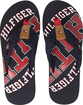 Corporate Flag Beach Sandal, Tongs Homme, Bleu (Midnight 403), 41 EUTommy Hilfiger