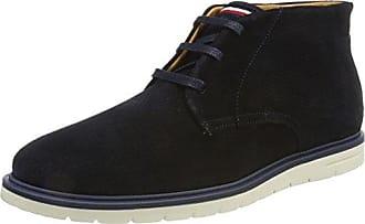 Tommy Hilfiger J2285oseph 4b, Zapatos de Cordones Oxford para Hombre, Azul (Midnight), 40 EU