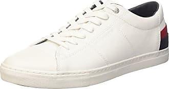 Tommy Hilfiger L2285eeds 2c1, Zapatillas para Hombre, Blanco (White), 43 EU