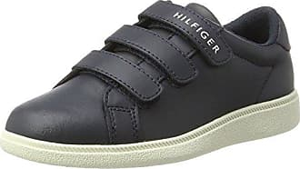 Tommy Hilfiger M3285axwell Jr 11c6, Zapatillas para Niños, Gris (Black-Magnet), 30 EU