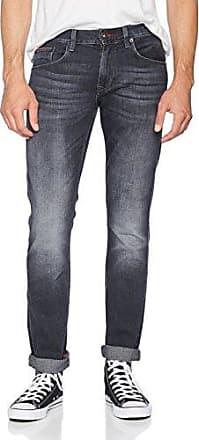Mens Denton-Str Portage Black Trouser Tommy Hilfiger TYxsV