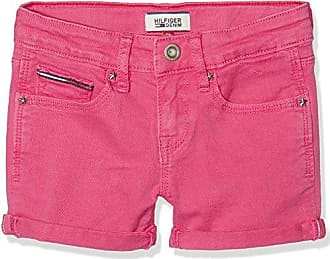 Tommy Hilfiger Flower Rayon, Short Fille, (Clematis Blue), 164 (Taille Fabricant: 14)