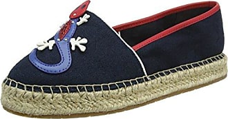 Corporate Slip, Espadrilles Femme, Bleu (Midnight 403), 42 EUTommy Hilfiger