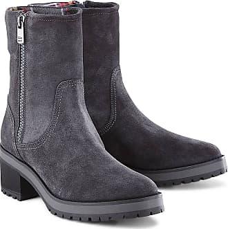 Tommy Hilfiger GH LEATHER BOOTIE 1 990990 Black, Schuhe, Stiefel & Stiefeletten, Stiefeletten, Grau, Female, 38