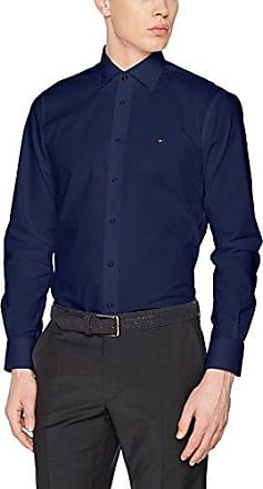 Jhn Shtsld18144, Chemise Business Homme, Blanc (100), X-Large (Taille Fabricant: R 44)Tommy Hilfiger Tailored