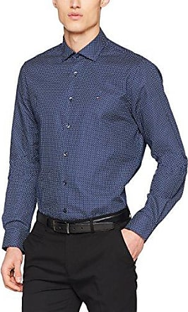 Prk Shtprt18142, Chemise Business Homme, Bleu (428), Large (Taille Fabricant: R 42)Tommy Hilfiger Tailored