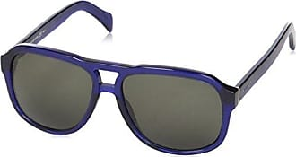Womens TH 1354/S UY Sunglasses, Havana White Blue Gold/Blue Shadedf Grey, 55 Tommy Hilfiger