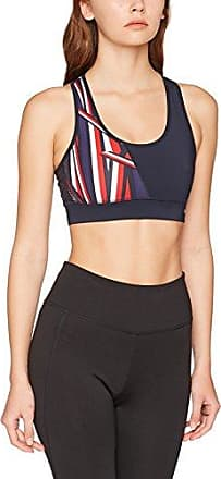 Tommy Hilfiger TH Ath Rosie Bra, Haut de Maillot Femme, Blanc (Peacoat/Classic White/Silver Pink), 42 (Taille Fabricant: X-Large)