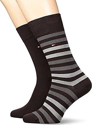 Burton Menswear London 6 Bright Stripe, Calcetines para Hombre, Negro, 46-49(Pack de 5)