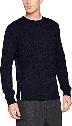 Tommy Hilfiger Pre-Twisted Ricecorn Cneck, Pull Homme, (Sky Captain Heather 031), X-Large