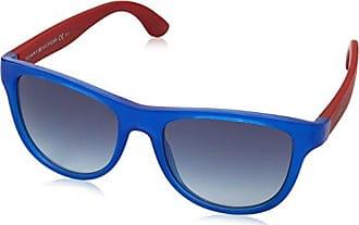 Unisex-Adults TH 1348/S 8A Sunglasses, Black Ruthenium, 49 Tommy Hilfiger