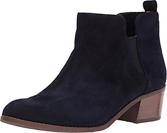 Tommy Hilfiger Boots »chain Detail Corporate Flat Boot«, Blau, Tommy Navy
