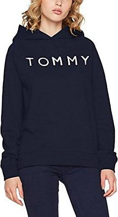 Tommy Hilfiger Nala Hoodie LS, Sweat-Shirt Femme, (Black Beauty), X-Small (Taille Fabricant: XS)